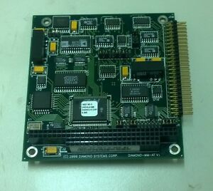 Diamond Systems Dmm at 16 Channel 12 bit Analog I o Pc 104 Board 1110