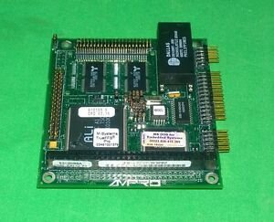 Ampro Cm2 sxi q 74 Coremodule Pc 104 Single Board Computer 1802