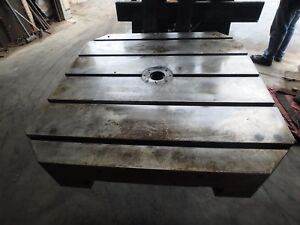 31 25 X 31 25 X 4 25 Steel Welding T slotted Table Cast Iron Layout_5 Slot