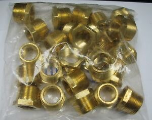 Brass Fittings Brass Reducing Bushing Size 1 X 3 4 Quantity 25