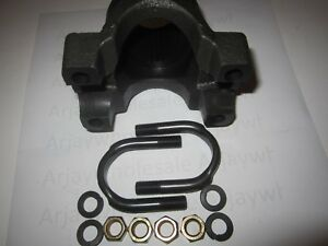 Gm 14 Bolt 10 5 Full Floater 1350 Series Forged Yoke W U bolts Washers Nuts