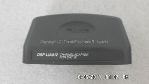 Fluke Dsp lia012 Channel Adapter For Cat5e