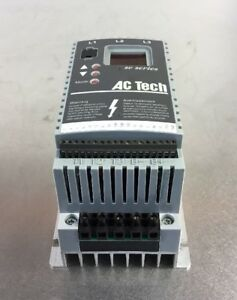 Ac Tech Sf405 Variable Speed Ac Motor Drive 0 5 Hp Sc Series 1h