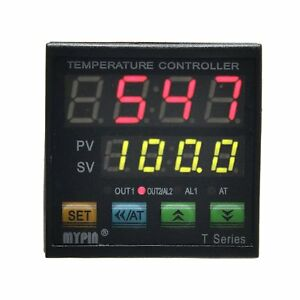 Mypin reg Ta4 snr k Thermocouple Snr Pid Dual Digital Display Temperature Contr