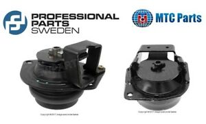 For Saab 9000 1990 1998 Set Pair Of 2 Front Rear Lower Engine Motor Mounts