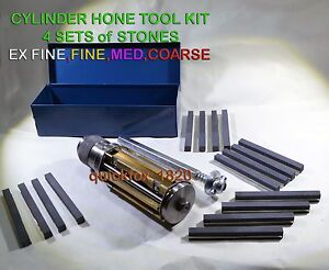 Motorcycle Atv Small Block Cylinder Hone Kit 2 To 3 4 Sets Stones