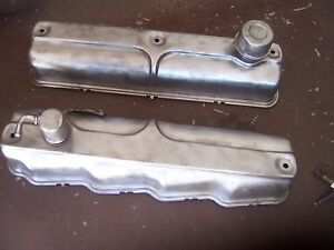 Nice Oe 1956 1961 Chrysler Dodge A Engine Poly Valve Covers 277 301 303 313 318