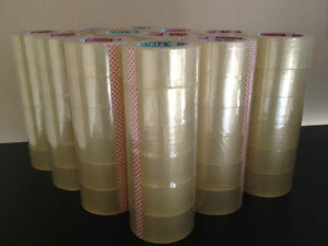 2 x110 Yards Clear Packing Sealing Packaging Tape 10 Cases 360 Rolls Wholesale