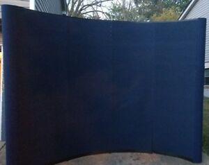 Professional Displays Inc Trade Craft Show Curved Display Booth Exhibit Kit