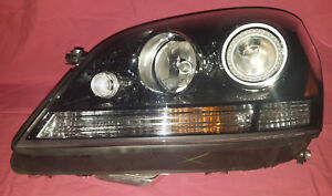 Oem New nos 06 07 08 Mercedes Ml Left Driver Headlight Hella Black Hid Xenon