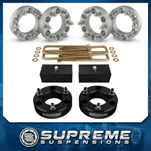4x 2 Wheel Spacer Kit 3 Front 2 Rear Lift Kit 07 18 Chevy Silverado 1500