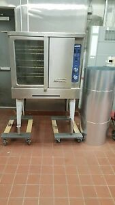 Imperial Commercial Convection Oven Single Deck Standard Natural Gas Model Icv 1
