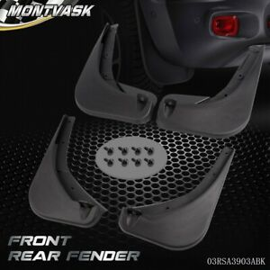 Front Rear Splash Guards Mud Flaps For 2015 2017 Jeep Renegade