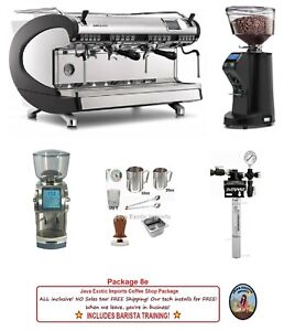 Simonelli Espresso Machine Coffee Shop Packages Training Free Installation