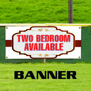 Two Bedroom Available Real Estate Apartment Rent Banner Sign