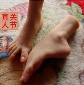 Feet 3d Silicone Love Girls Foot Arbitrary Posture Lifelike Display Model Show
