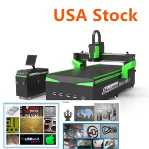 Us Stock 51 X 98 1325 Cnc Router Machine With 6kw Spindle And Vacuum System