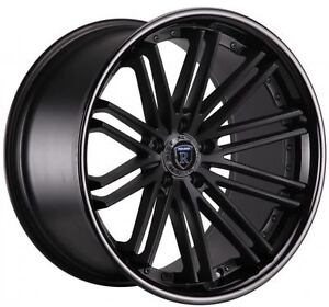 20 Rohana Rc20 Concave Wheels Staggered Rims 5x120 Fits Bmw Cadillac Chevrolet