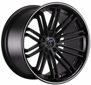 20 Rohana Rc20 Concave Wheels Staggered Rims 5x114 3