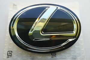 For Lexus Black Front Emblem Grille Grill Logo Badge F Sport Is250 Gs350 Is200t