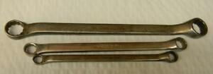 Snap on 3pc Sae 12pt 10 Offset Box Wrench Set