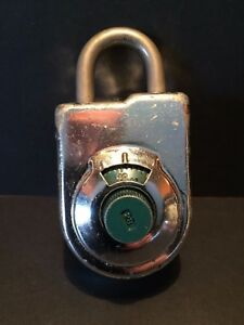 Sargent Greenleaf Combinatin Padlock S g 8077 Cl2 1968