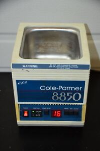 Cole parmer 8850 34 Digital Ultrasonic Cleaner Tested Guaranteed