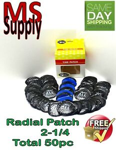 50 Pc 2 1 4in Medium Round Usa Style Universal Repair Tube Radial Tire Patch