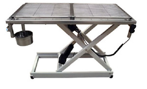 New Veterinary Surgical Operating Table Dh04 b Electric Removable Wire Mesh Top