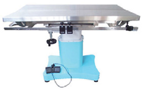 New Veterinary Surgical Operating Table Dh76 Electric Tilt Stainless Steel V top