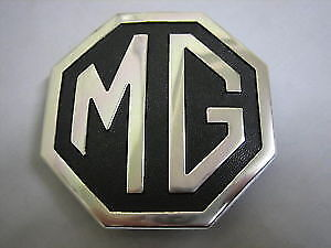 Mg New Trunk Badge Emblem Metal Cha545 1970 1980 Mgb Midget