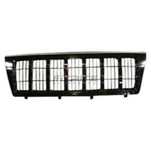 New Grille Painted Surround And Insert Fits Jeep Grand Cherokee 2004 Ch1200301