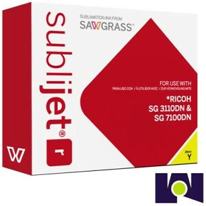 Sawgrass Sublijet Ink Sublimation Ink Cartridge 3110 Yellow