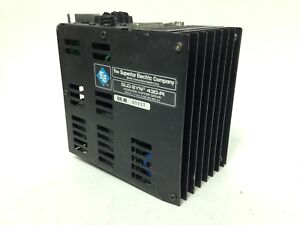 Danaher Superior Electric Slo syn 430 pi Drive Indexer 240v 0 5a Power Supply