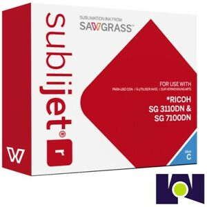 Sawgrass Sublijet Ink Sublimation Ink Cartridge 3110 Cyan