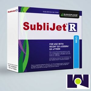 Sawgrass Sublijet Ink Sublimation Ink Cartridge 3300 Cyan