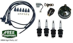 Ignition Tune Up Kit Ford 8n Tractor Side Mount Distributor Ignition Kit