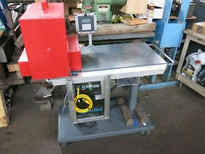 Rapidair Cj Series 8 Servo Feed Punch Press Feed Unit