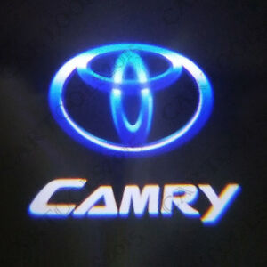 2pcs Car Door Led Camry Logo Welcome Lights Laser Ghost Shadow Projector Lamp