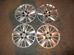 Set Of 4 New 2014 14 2015 15 Impala 18 Hubcaps Wheel Covers Free Shipping 3299