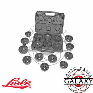 Lisle 17 Piece Oil Filter Cap Wrench Set 61500