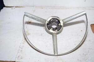 1968 Mopar Plymouth Steering Wheel Horn Ring Center 2852092
