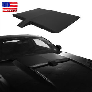Abs Injection Car Air Engine Hood Scoop Cover For 2015 2017 Ford Mustang