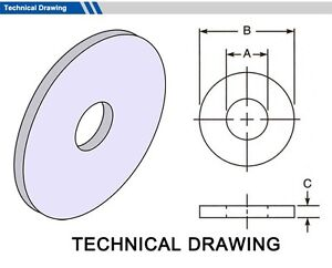Gasket Outside Diameter 75mm Thickness 2mm select Inside Dia Material Pack