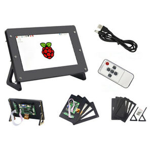 Lcd Display With Case 7 Inch 1024x600 Screen Raspberry Pi 3 Model B