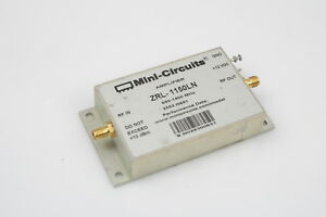Mini circuits Zrl 1150ln 650 1400mhz Sma Low Noise Amplifier