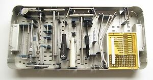 Smith Nephew Peri loc Intermediate Osteotomy Surgical Instrument Tool Set