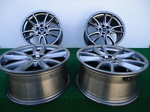 2011 2014 Set Of 4 Factory Ford Mustang Wheels Rims 19 x9 P n Br331007bb Oem