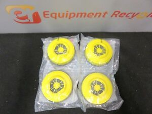 Wilson T05 6f291 Chemical Cartridges For Full Face Respirators Lot Of 4 New