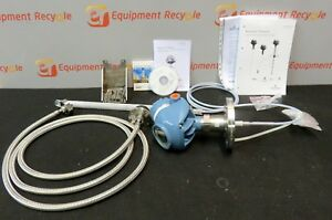 Rosemount 5300 Series Level Transmitter Guided Wave Radar Ss Cable Probe 5301